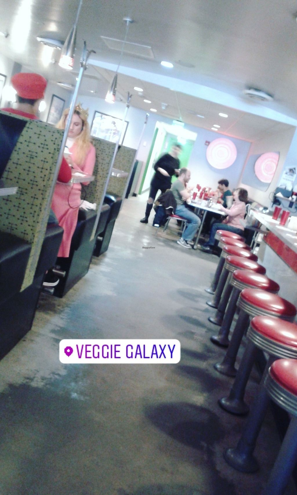 """Photo of Veggie Galaxy  by <a href=""""/members/profile/Coralin"""">Coralin</a> <br/>The restaurant <br/> November 9, 2017  - <a href='/contact/abuse/image/27722/323579'>Report</a>"""