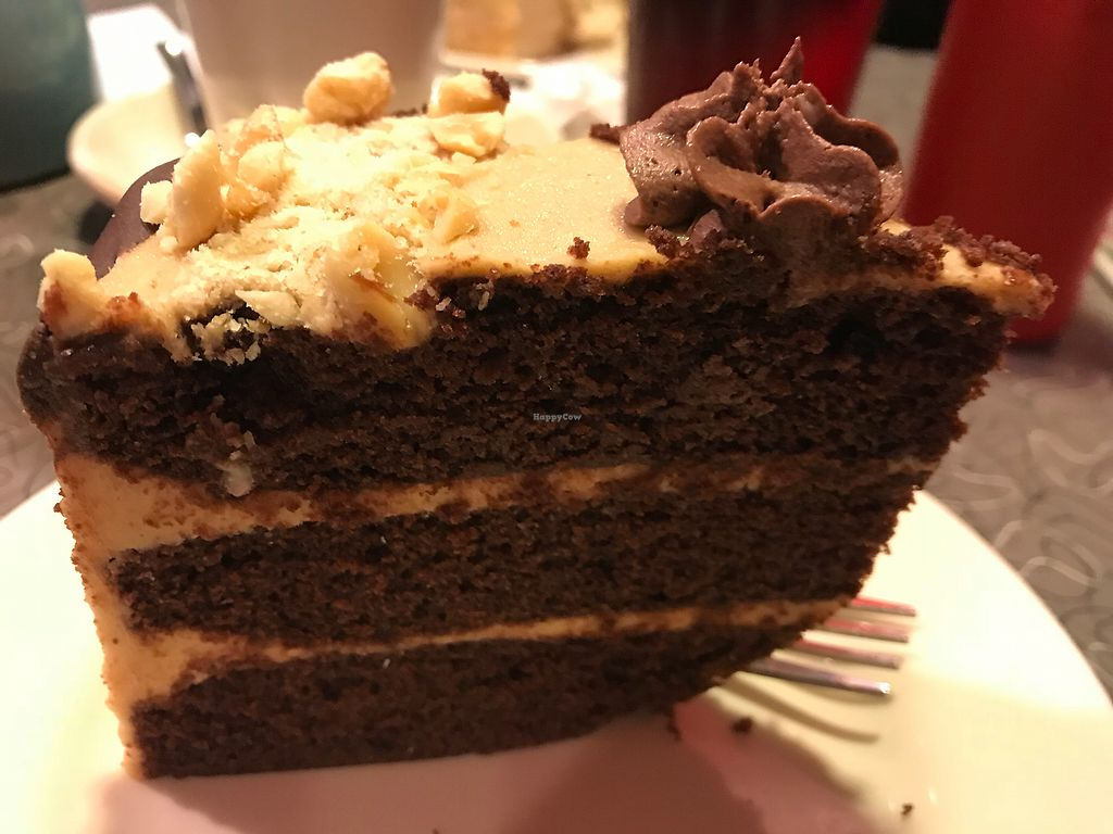 """Photo of Veggie Galaxy  by <a href=""""/members/profile/brooke123"""">brooke123</a> <br/>Chocolate Peanut Butter Cake <br/> November 20, 2017  - <a href='/contact/abuse/image/27722/327611'>Report</a>"""