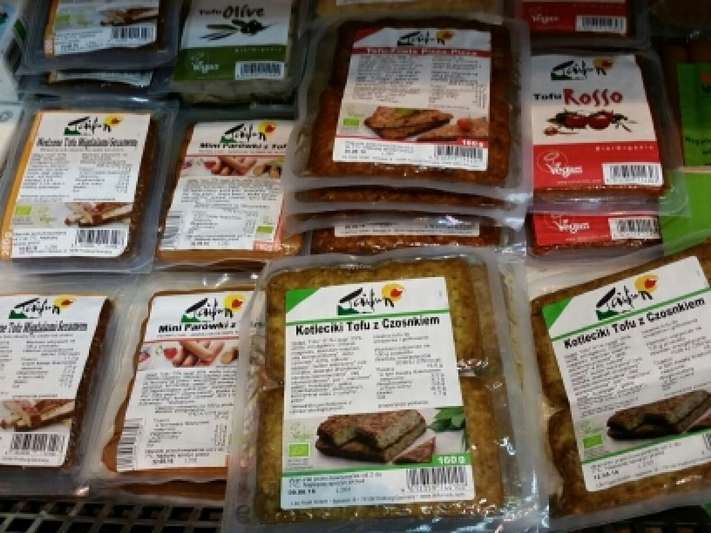 """Photo of Organic Farma Zdrowia  by <a href=""""/members/profile/eric"""">eric</a> <br/>vegan meats <br/> May 7, 2016  - <a href='/contact/abuse/image/27726/147846'>Report</a>"""