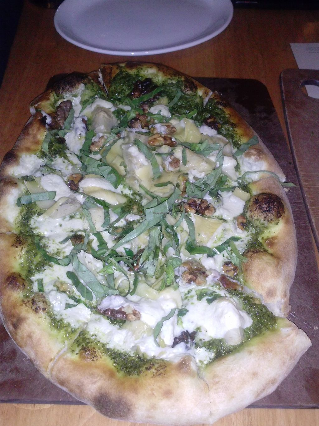 """Photo of Mohawk Bend  by <a href=""""/members/profile/Sonja%20and%20Dirk"""">Sonja and Dirk</a> <br/>pesto pizza <br/> January 1, 2016  - <a href='/contact/abuse/image/27727/130640'>Report</a>"""