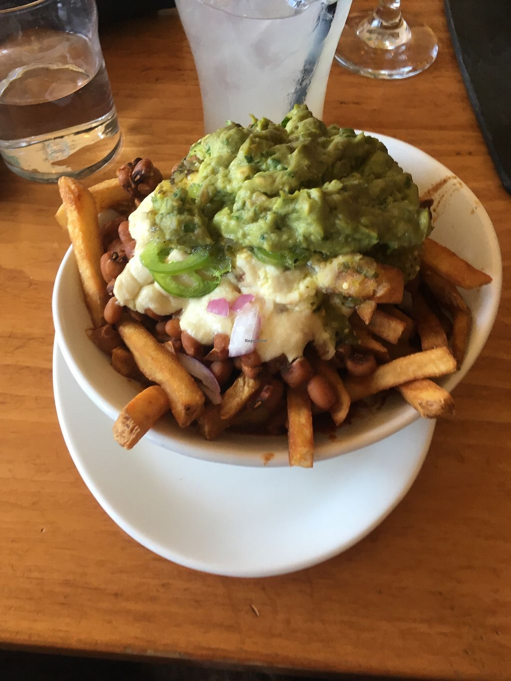 """Photo of Mohawk Bend  by <a href=""""/members/profile/AlexandraPhillips"""">AlexandraPhillips</a> <br/>Vegan chili cheese fries  <br/> July 4, 2017  - <a href='/contact/abuse/image/27727/276768'>Report</a>"""