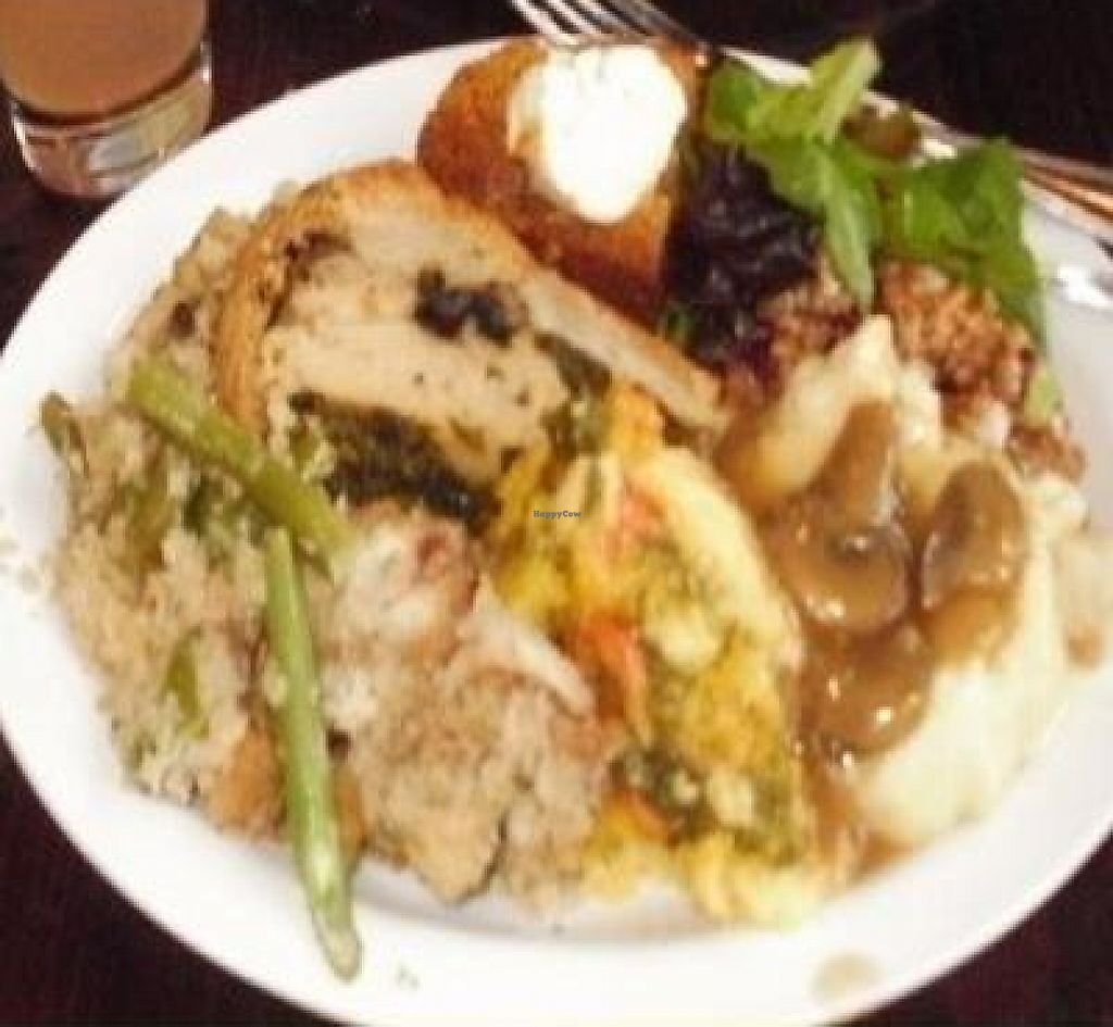 """Photo of Native Foods - Wicker Park  by <a href=""""/members/profile/Annakin"""">Annakin</a> <br/>Thanksgiving Buffet 2011 <br/> November 28, 2011  - <a href='/contact/abuse/image/27740/194795'>Report</a>"""