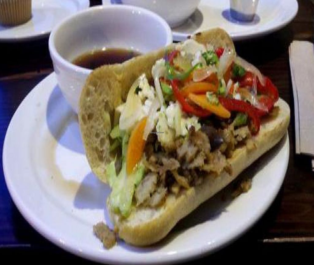 """Photo of Native Foods - Wicker Park  by <a href=""""/members/profile/SynthVegan"""">SynthVegan</a> <br/>Chicago Au Jus <br/> August 26, 2011  - <a href='/contact/abuse/image/27740/194808'>Report</a>"""