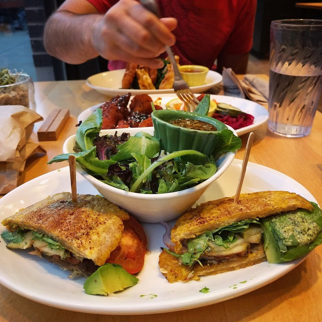 """Photo of Native Foods - Wicker Park  by <a href=""""/members/profile/makemenervous"""">makemenervous</a> <br/>Jibarito <br/> August 22, 2017  - <a href='/contact/abuse/image/27740/295973'>Report</a>"""