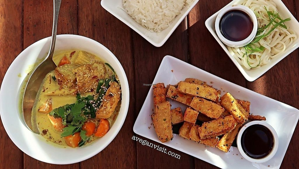 """Photo of Chow  by <a href=""""/members/profile/AVeganVisit.com"""">AVeganVisit.com</a> <br/>The jungle curry and seven spice tofu - both of which were incredible! <br/> February 27, 2018  - <a href='/contact/abuse/image/27772/364429'>Report</a>"""