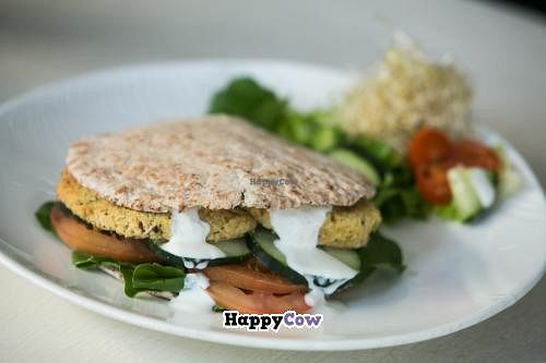 """Photo of V.O.P. - Very Organic People  by <a href=""""/members/profile/VopVeryorganicpeople"""">VopVeryorganicpeople</a> <br/>Sándwich Falafel de Quinoa, delicious VOP Creation <br/> November 17, 2013  - <a href='/contact/abuse/image/27803/58640'>Report</a>"""