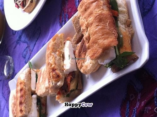 """Photo of V.O.P. - Very Organic People  by <a href=""""/members/profile/VopVeryorganicpeople"""">VopVeryorganicpeople</a> <br/>Sándwich VOP  Ciabatta, Vegetables,,  Fresh Cheese & Rucula  <br/> November 17, 2013  - <a href='/contact/abuse/image/27803/58647'>Report</a>"""