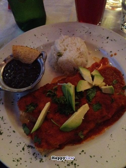 "Photo of Mestizo Restaurant and Tequila Bar  by <a href=""/members/profile/pefff"">pefff</a> <br/>Enchiladas de papa.  <br/> September 3, 2013  - <a href='/contact/abuse/image/27814/54288'>Report</a>"