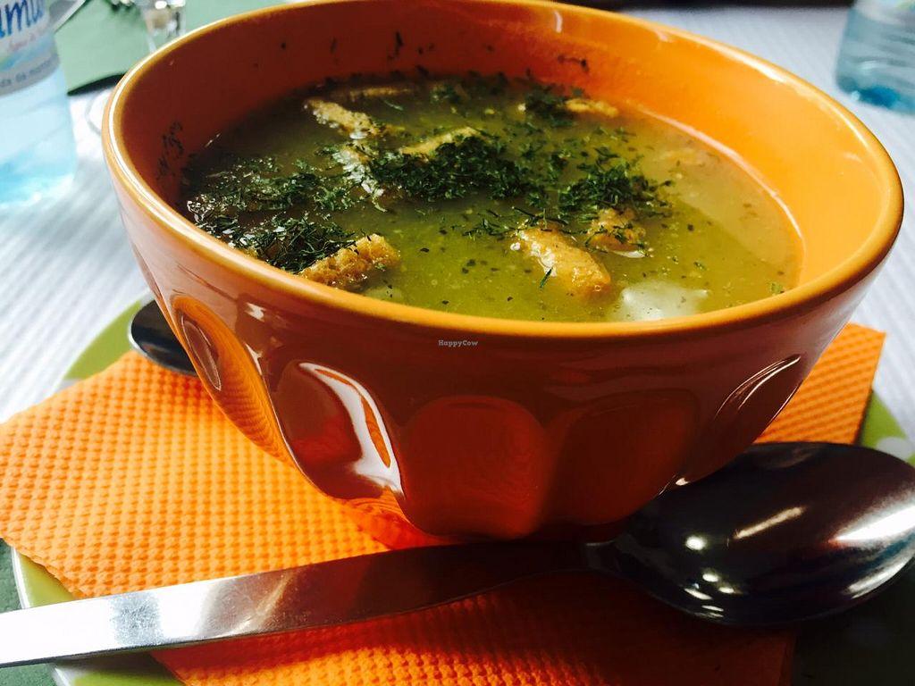 """Photo of Oasis Vegetariano  by <a href=""""/members/profile/RaquelMesquita"""">RaquelMesquita</a> <br/>sopa <br/> July 15, 2015  - <a href='/contact/abuse/image/27871/109481'>Report</a>"""