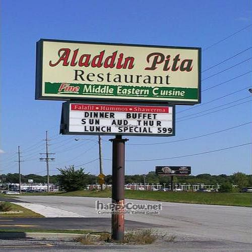 """Photo of Aladdin Pita  by <a href=""""/members/profile/happycowgirl"""">happycowgirl</a> <br/>Aladdin Pita sign on Rt. 30 <br/> September 21, 2011  - <a href='/contact/abuse/image/27879/10749'>Report</a>"""