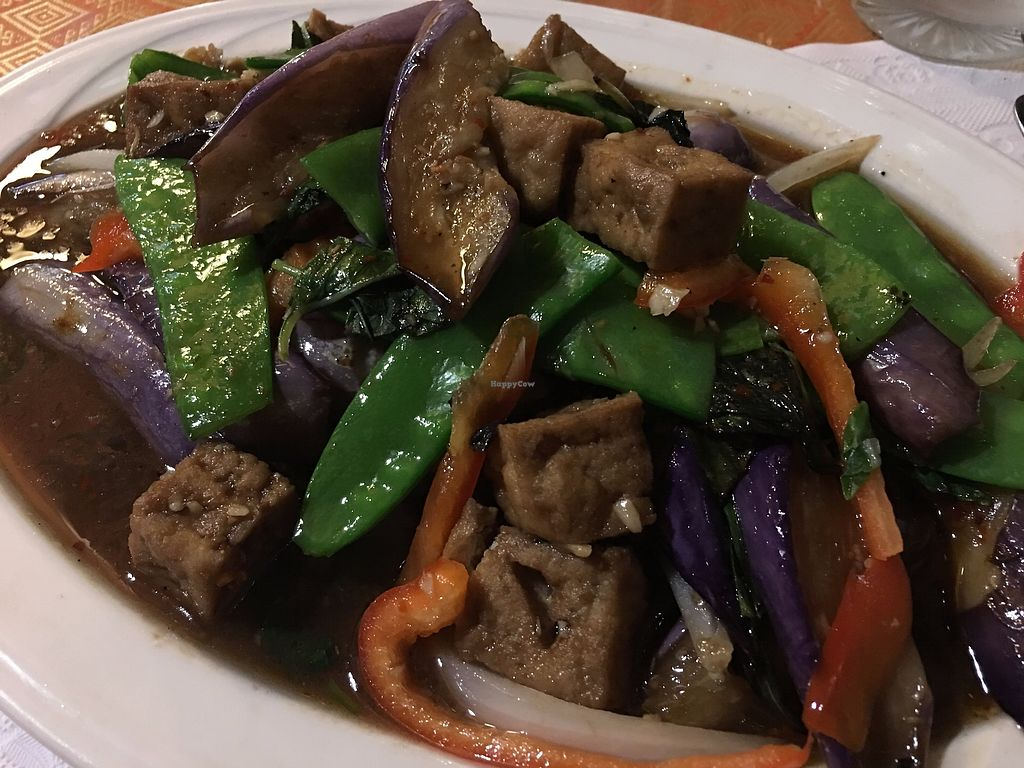 "Photo of Andaman Healthy Thai Cuisine  by <a href=""/members/profile/TraciH"">TraciH</a> <br/>Basil Eggplant with Tofu <br/> November 13, 2017  - <a href='/contact/abuse/image/27885/325316'>Report</a>"