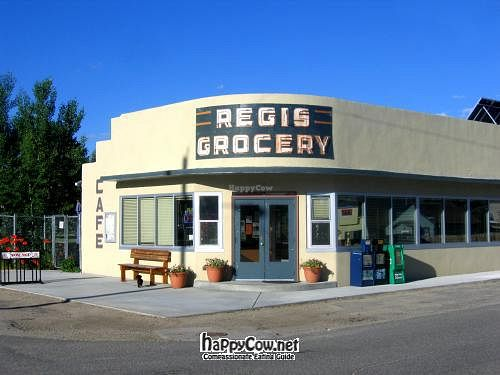 """Photo of Cafe Regis  by <a href=""""/members/profile/Gary%20Ferguson"""">Gary Ferguson</a> <br/>Cafe Regis, located in the historic Regis Grocery <br/> June 17, 2012  - <a href='/contact/abuse/image/27894/33428'>Report</a>"""