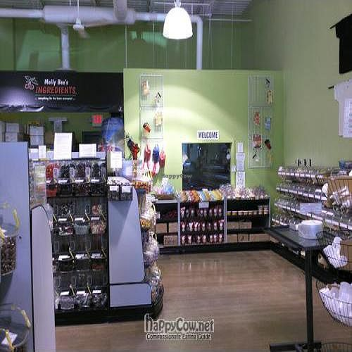 """Photo of Molly Bea's Ingredients  by <a href=""""/members/profile/happycowgirl"""">happycowgirl</a> <br/>inside store <br/> August 15, 2011  - <a href='/contact/abuse/image/27908/10133'>Report</a>"""