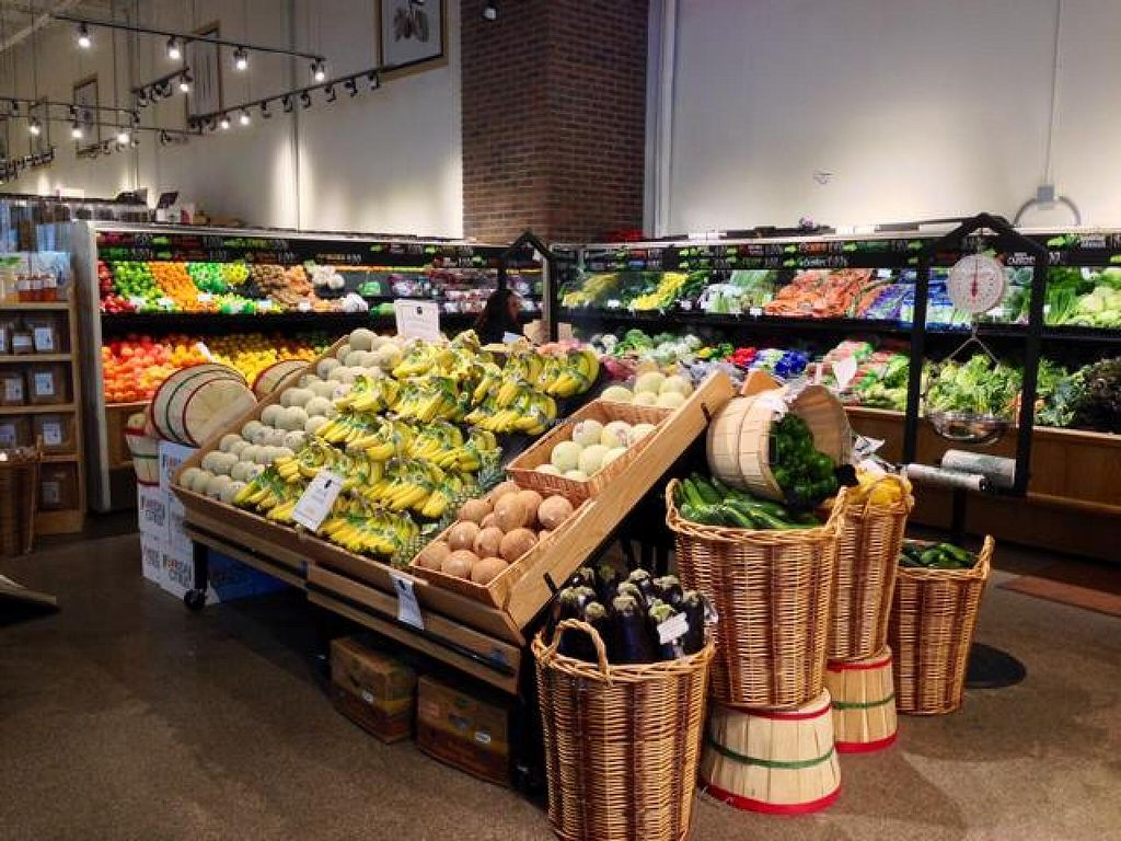 """Photo of Ada's Natural Market & Cafe  by <a href=""""/members/profile/happycowgirl"""">happycowgirl</a> <br/>fresh organic fruits & vegetables <br/> May 17, 2014  - <a href='/contact/abuse/image/27916/70171'>Report</a>"""