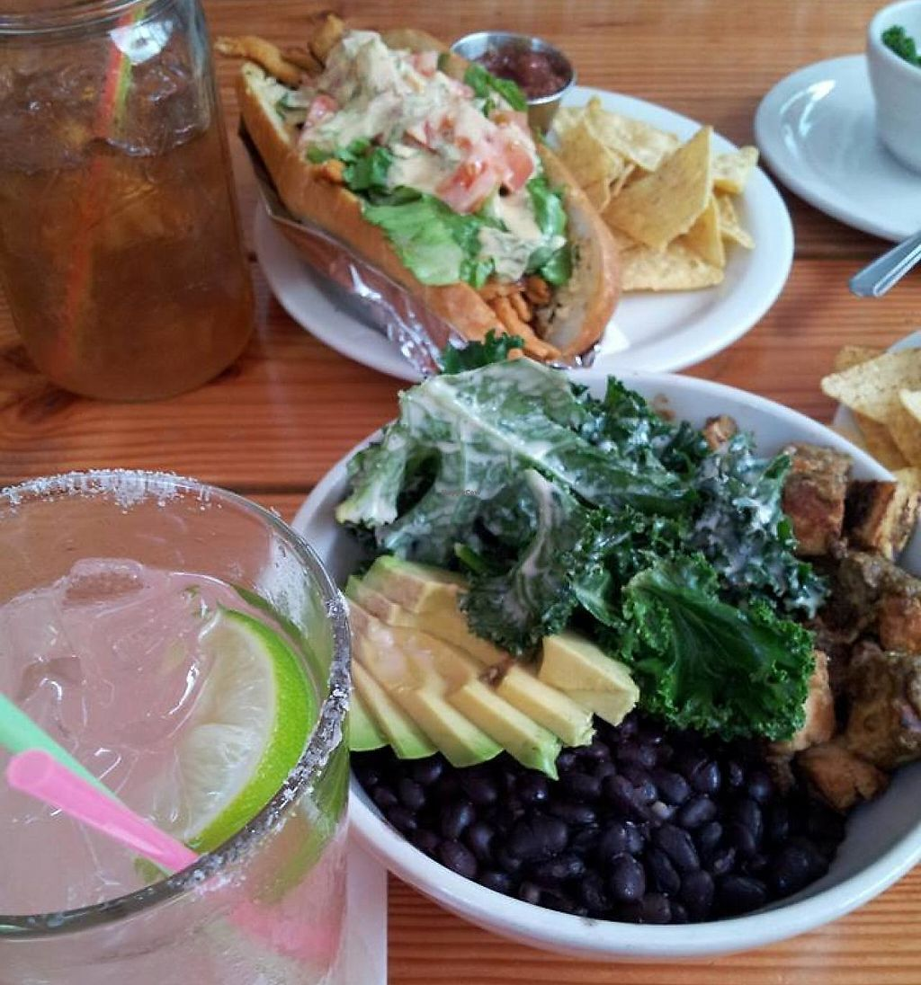 """Photo of Sweet Hereafter  by <a href=""""/members/profile/VintageVariety"""">VintageVariety</a> <br/>Jamaican Bowl & Buffalo Sub!  SO TASTY! <br/> April 9, 2014  - <a href='/contact/abuse/image/27937/221331'>Report</a>"""