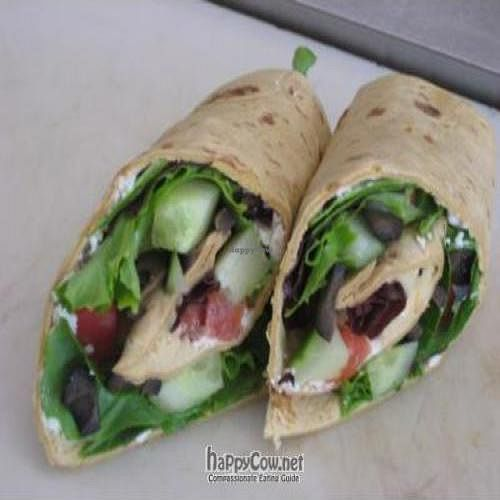 """Photo of CLOSED: Melissa's Sidewalk Cafe  by <a href=""""/members/profile/Micheal22reahl"""">Micheal22reahl</a> <br/>Veggie Wrap <br/> September 9, 2011  - <a href='/contact/abuse/image/27941/10516'>Report</a>"""