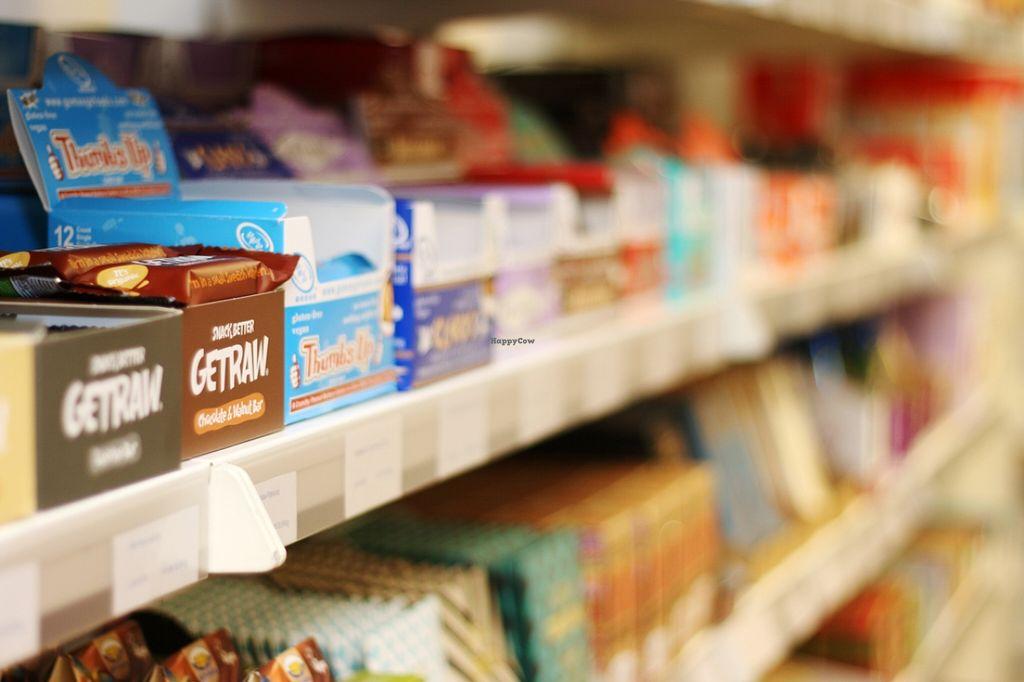 Photo of Vegekauppa  by VegekauppaTurku <br/>Vegekauppa has a good selection of vegan chocolates and energy bars.  <br/> January 24, 2016  - <a href='/contact/abuse/image/27954/133489'>Report</a>