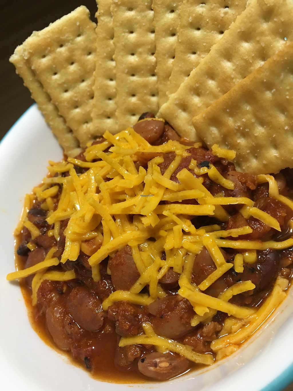 """Photo of Steady Eddy's Cafe at the Market  by <a href=""""/members/profile/EmmaMoesMommy"""">EmmaMoesMommy</a> <br/>Vegan chili  <br/> April 23, 2018  - <a href='/contact/abuse/image/27959/390148'>Report</a>"""