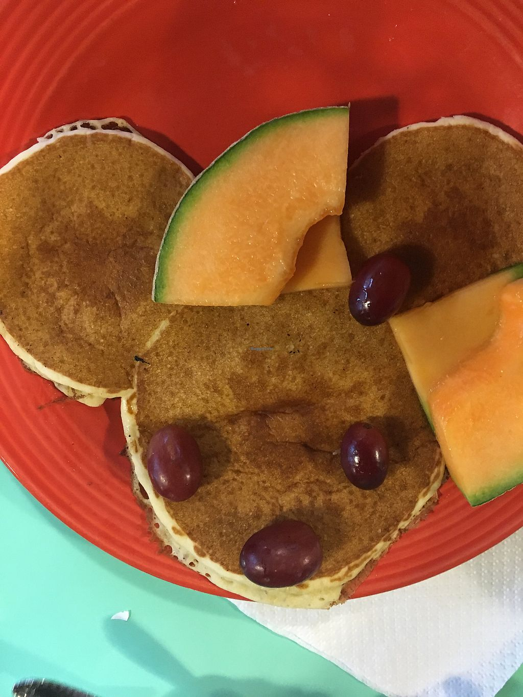 """Photo of Steady Eddy's Cafe at the Market  by <a href=""""/members/profile/EmmaMoesMommy"""">EmmaMoesMommy</a> <br/>Vegetarian mini mouse pancakes <br/> April 23, 2018  - <a href='/contact/abuse/image/27959/390149'>Report</a>"""