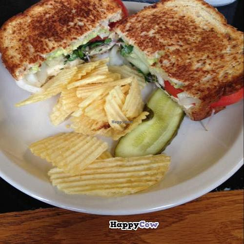 """Photo of Steady Eddy's Cafe at the Market  by <a href=""""/members/profile/Mariarosekicks"""">Mariarosekicks</a> <br/>soy veggie melt <br/> November 2, 2013  - <a href='/contact/abuse/image/27959/57783'>Report</a>"""