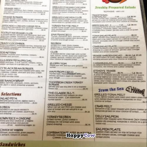 """Photo of Steady Eddy's Cafe at the Market  by <a href=""""/members/profile/Mariarosekicks"""">Mariarosekicks</a> <br/>menu <br/> November 2, 2013  - <a href='/contact/abuse/image/27959/57784'>Report</a>"""