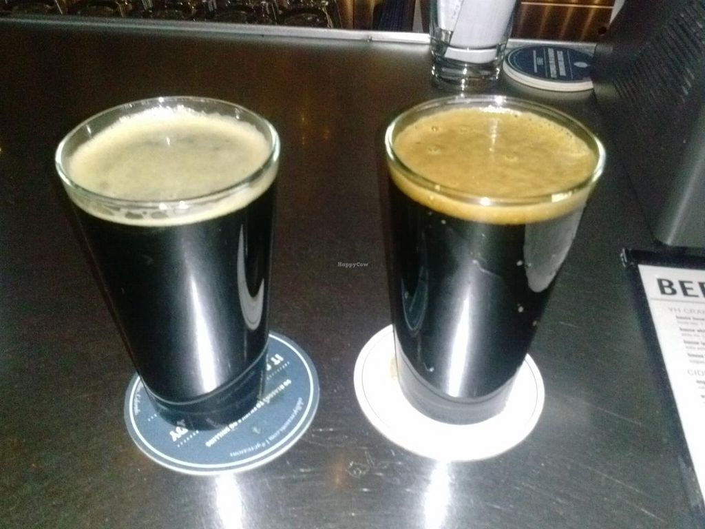"""Photo of Yard House  by <a href=""""/members/profile/Sonja%20and%20Dirk"""">Sonja and Dirk</a> <br/>local Colorado stouts <br/> February 16, 2015  - <a href='/contact/abuse/image/27983/93289'>Report</a>"""