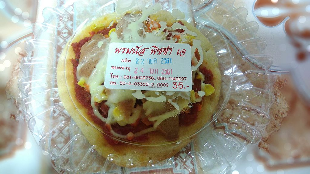 """Photo of Ming Kwan  by <a href=""""/members/profile/ChoyYuen"""">ChoyYuen</a> <br/>Vegan pizza at 35 baht only.  <br/> May 24, 2018  - <a href='/contact/abuse/image/28009/404236'>Report</a>"""