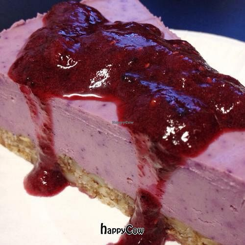 "Photo of Rawmbas  by <a href=""/members/profile/NeilGaudet"">NeilGaudet</a> <br/>dairy free blueberry cheesecake <br/> February 28, 2013  - <a href='/contact/abuse/image/28044/44872'>Report</a>"