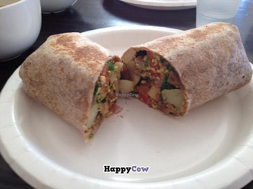 """Photo of Cuppa Joe  by <a href=""""/members/profile/Jeff%20M"""">Jeff M</a> <br/>vegan burrito <br/> October 3, 2013  - <a href='/contact/abuse/image/28102/56193'>Report</a>"""