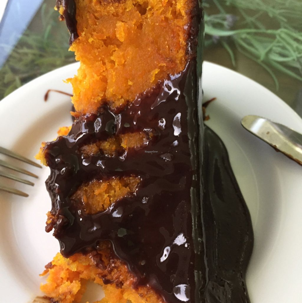 """Photo of Salsa Verde  by <a href=""""/members/profile/Smeg"""">Smeg</a> <br/>Sinfully delicious carrot cake with dark chocolate topping.  <br/> September 1, 2015  - <a href='/contact/abuse/image/28108/116084'>Report</a>"""