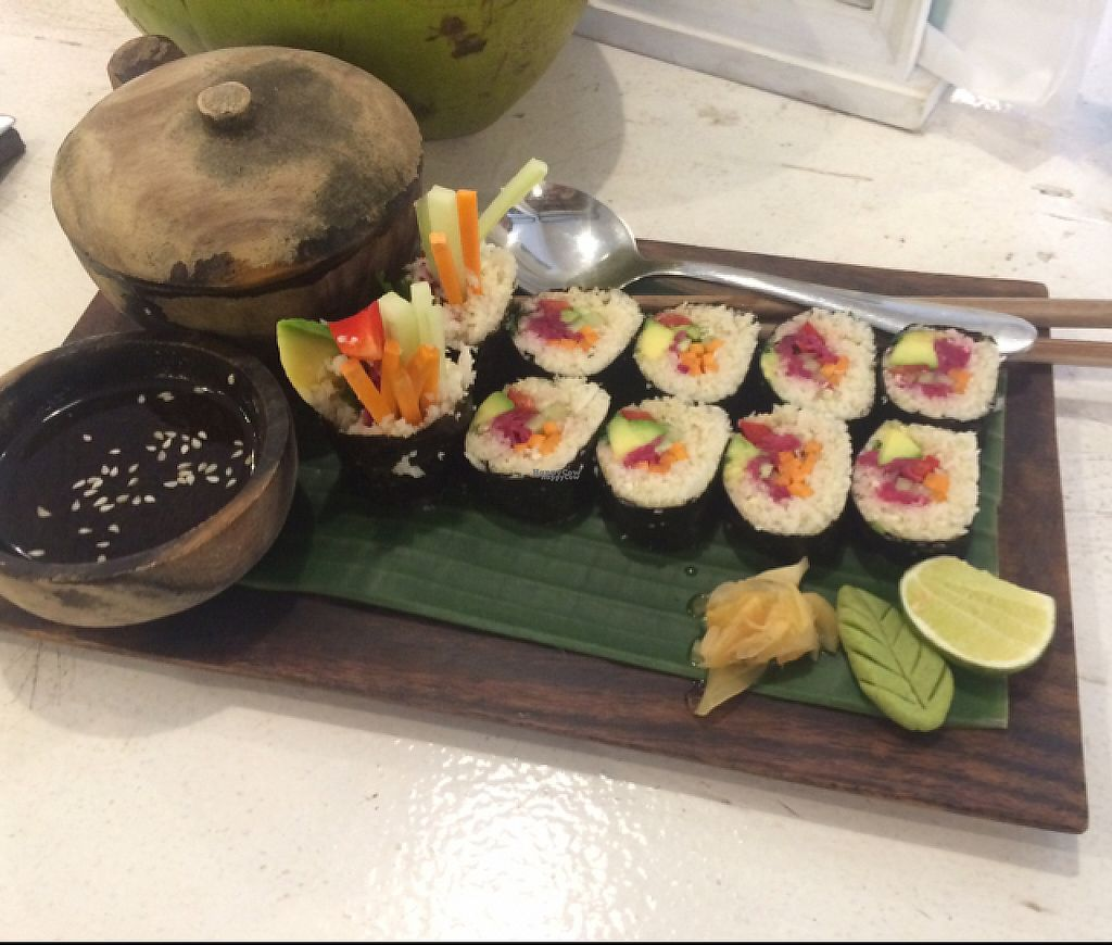 """Photo of Alchemy  by <a href=""""/members/profile/~Florence~"""">~Florence~</a> <br/>sushi with miso soup <br/> March 13, 2017  - <a href='/contact/abuse/image/28110/235835'>Report</a>"""