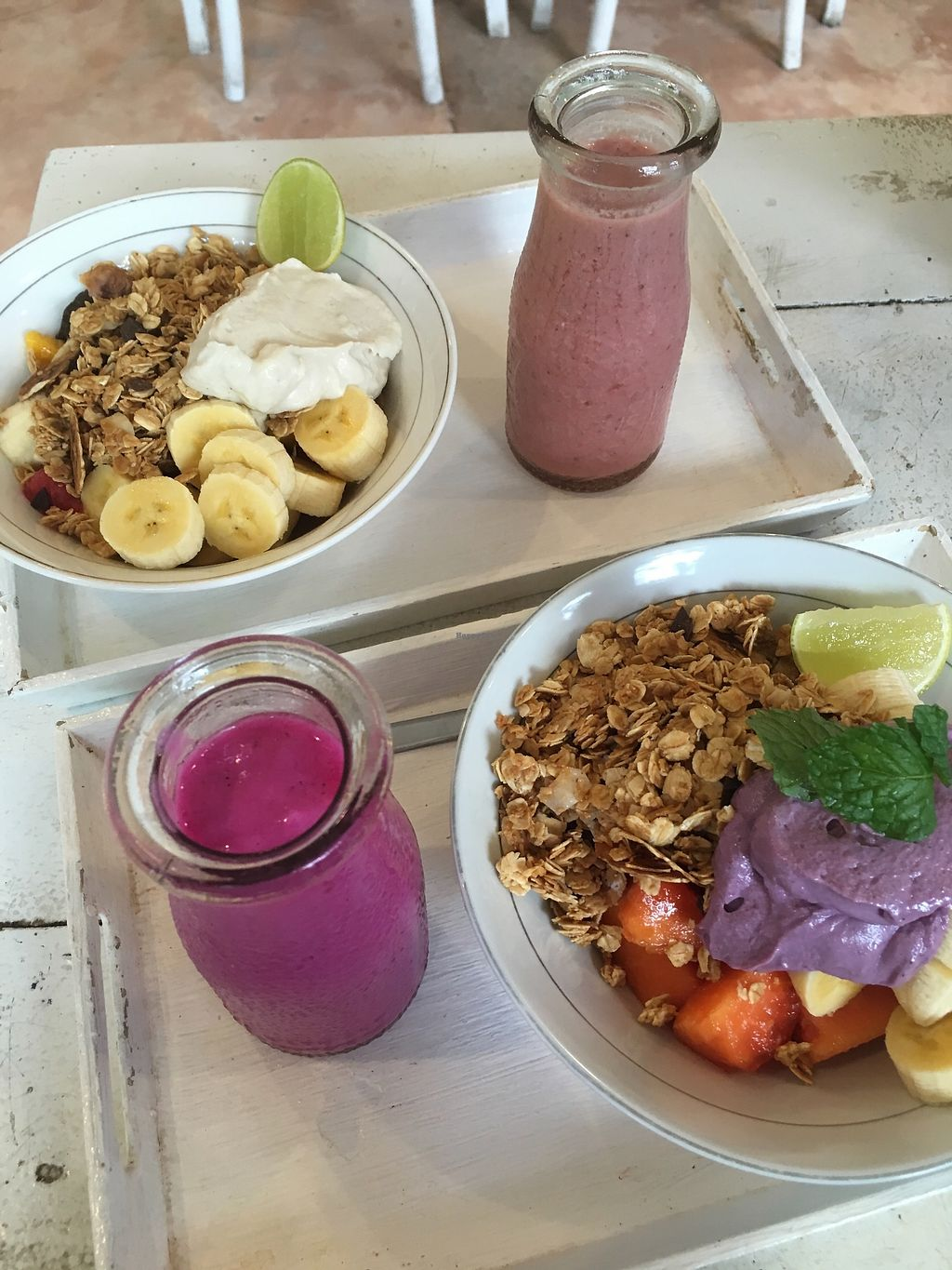 """Photo of Alchemy  by <a href=""""/members/profile/jojoinbrighton"""">jojoinbrighton</a> <br/>Smoothie bowls <br/> August 15, 2017  - <a href='/contact/abuse/image/28110/292852'>Report</a>"""