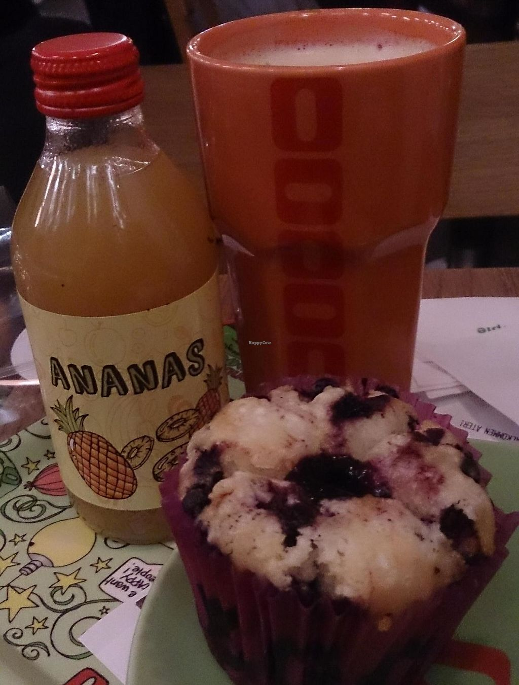 "Photo of Condeco  by <a href=""/members/profile/Pehpsii"">Pehpsii</a> <br/>soy latte, juice and blueberry muffin, 100sek <br/> February 5, 2015  - <a href='/contact/abuse/image/28128/244088'>Report</a>"