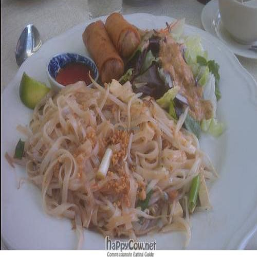 """Photo of Sukkho Thai  by <a href=""""/members/profile/kimward8"""">kimward8</a> <br/>Vegan Pad Thai Lunch Combo <br/> September 2, 2011  - <a href='/contact/abuse/image/28141/10384'>Report</a>"""