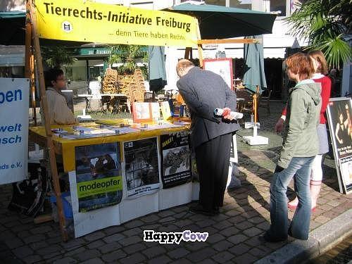 "Photo of Tierrechtsinitiative Freiburg e.V.  by <a href=""/members/profile/DennisFR"">DennisFR</a> <br/>Anti-Fur campaign <br/> July 21, 2013  - <a href='/contact/abuse/image/28148/51727'>Report</a>"