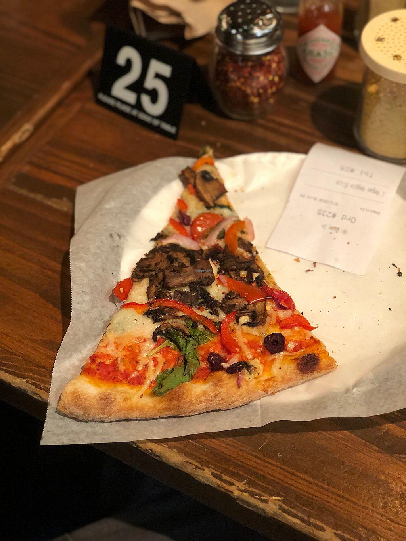 "Photo of Pizzanista  by <a href=""/members/profile/Joeybrezinski"">Joeybrezinski</a> <br/>Vegan veggie  <br/> May 4, 2018  - <a href='/contact/abuse/image/28176/394819'>Report</a>"