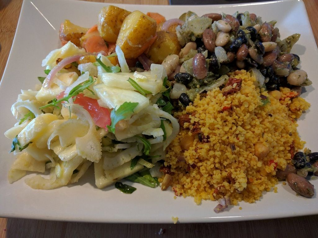 """Photo of CLOSED: Botaniq  by <a href=""""/members/profile/Sonja%20and%20Dirk"""">Sonja and Dirk</a> <br/>different salads <br/> July 27, 2016  - <a href='/contact/abuse/image/28200/162770'>Report</a>"""