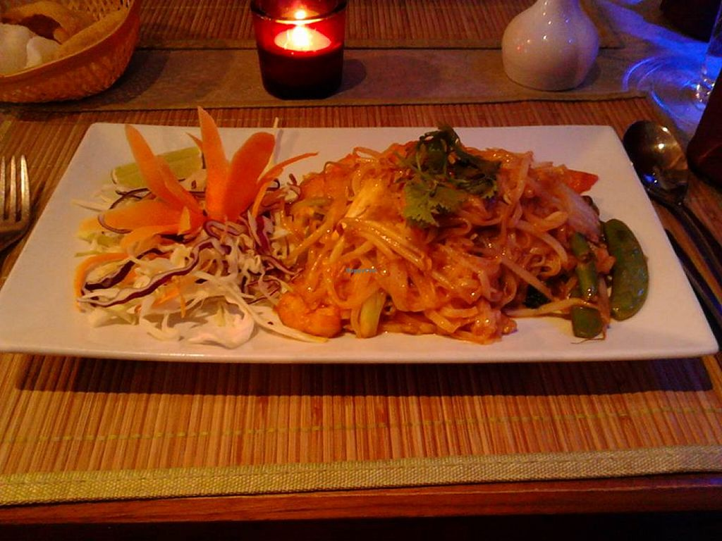 "Photo of Jasmine Thai Restaurant  by <a href=""/members/profile/Gem0970"">Gem0970</a> <br/>vegetable and tofu pad thai <br/> August 11, 2015  - <a href='/contact/abuse/image/28220/113158'>Report</a>"