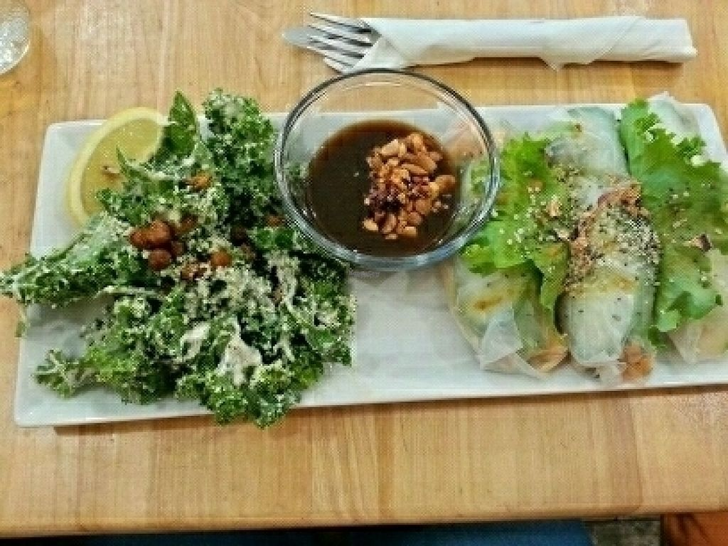 "Photo of Cafe Mosaics  by <a href=""/members/profile/LolaMeow"">LolaMeow</a> <br/>Astralagus Salad Rolls <br/> August 10, 2016  - <a href='/contact/abuse/image/2822/167388'>Report</a>"