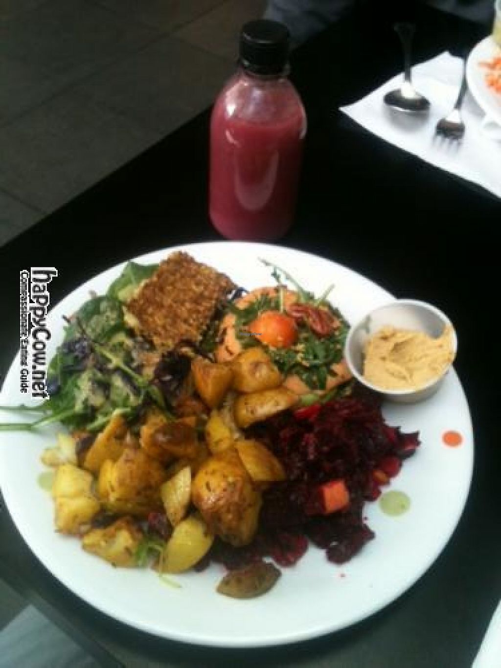 """Photo of Glo - Engjateigur  by <a href=""""/members/profile/ChickpeaDee"""">ChickpeaDee</a> <br/>This is a photo of my all vegan meal at Glo restaurant in Iceland.  I hope you can post this with my review (from ChickpeaDee) <br/> March 19, 2012  - <a href='/contact/abuse/image/28278/262319'>Report</a>"""