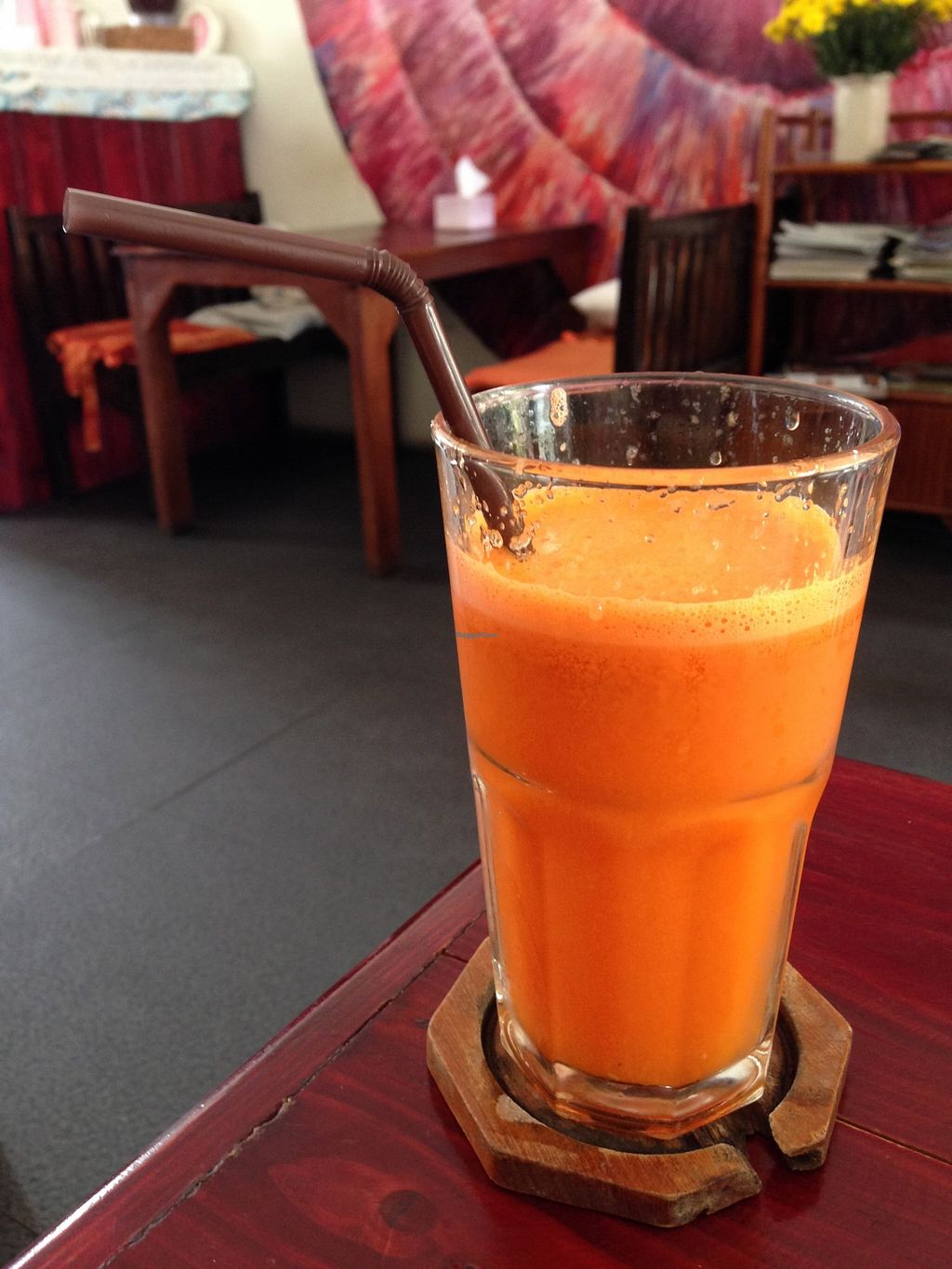 "Photo of CLOSED: Beetroot Stories Cafe  by <a href=""/members/profile/Pamina"">Pamina</a> <br/>Fruit juice @ Beetroot Stories Cafe, Chiang Mai <br/> December 26, 2015  - <a href='/contact/abuse/image/28282/129860'>Report</a>"
