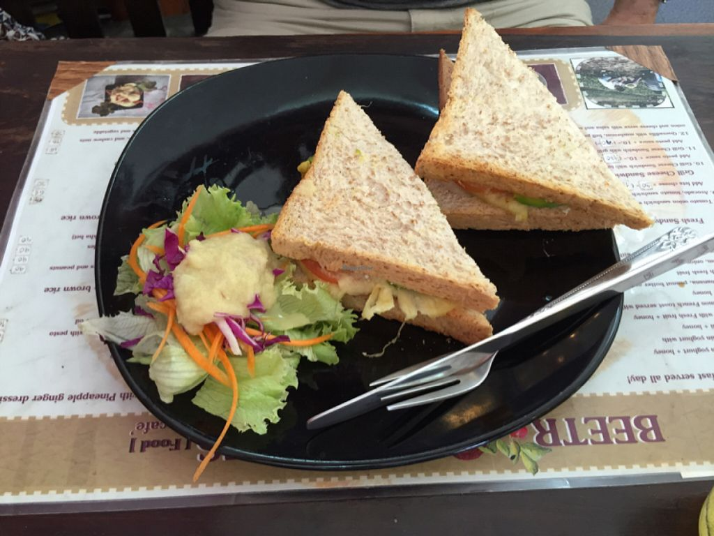 "Photo of CLOSED: Beetroot Stories Cafe  by <a href=""/members/profile/zoucares"">zoucares</a> <br/>avocado sandwich  <br/> July 25, 2016  - <a href='/contact/abuse/image/28282/162123'>Report</a>"