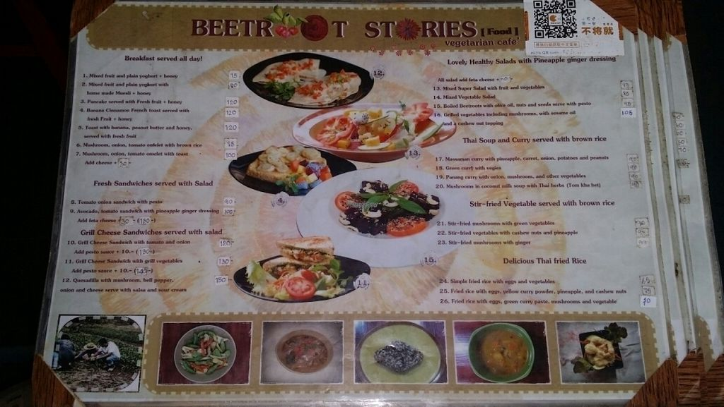 "Photo of CLOSED: Beetroot Stories Cafe  by <a href=""/members/profile/Mike%20Munsie"">Mike Munsie</a> <br/>menu at entrance <br/> November 7, 2016  - <a href='/contact/abuse/image/28282/187164'>Report</a>"