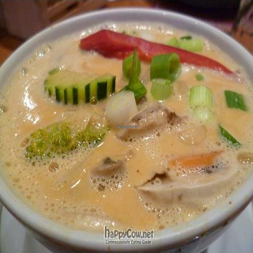 Photo of Siam Thailandisches Spezialitaten  by benjo <br/>Tom Ka Pag: vegetable soup with coconut milk <br/> September 25, 2011  - <a href='/contact/abuse/image/28283/10825'>Report</a>