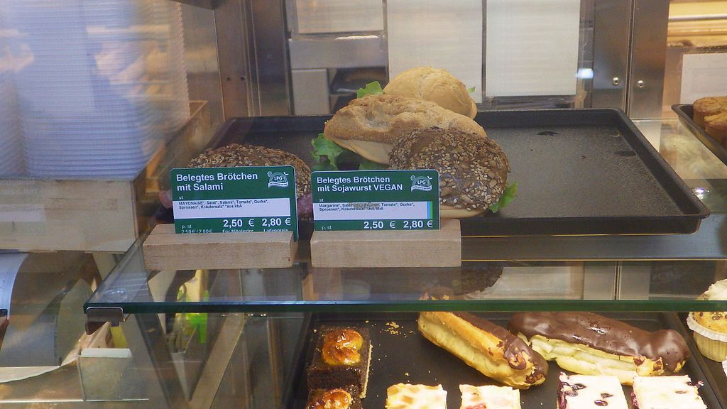 """Photo of LPG BioMarkt - Reichberger  by <a href=""""/members/profile/deadpledge"""">deadpledge</a> <br/>Wurst sandwich <br/> April 16, 2017  - <a href='/contact/abuse/image/28293/248905'>Report</a>"""