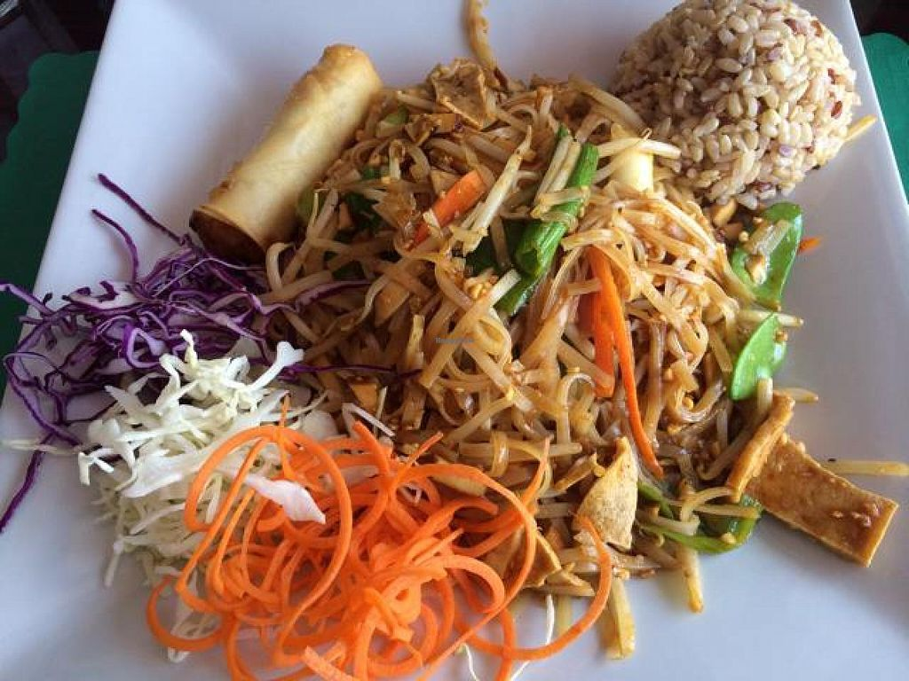 "Photo of CLOSED: Charm Vegan  by <a href=""/members/profile/cha-yen%20monster"">cha-yen monster</a> <br/>Pad Thai lunch special <br/> June 7, 2014  - <a href='/contact/abuse/image/28341/71563'>Report</a>"