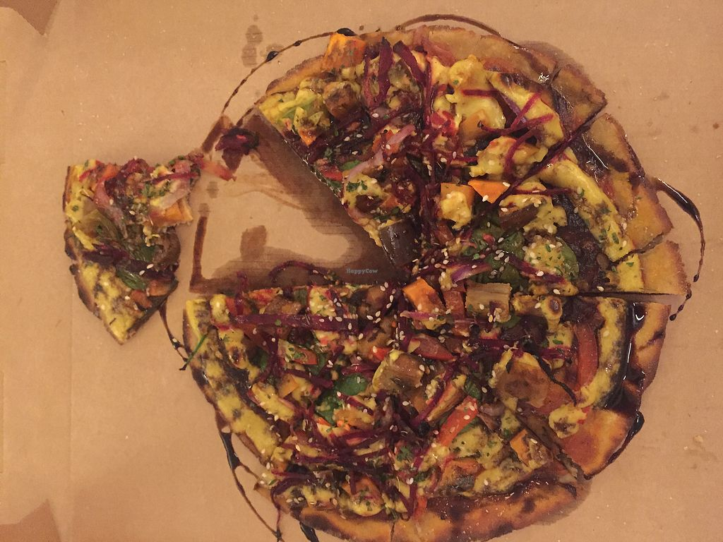 """Photo of Mandala & Co  by <a href=""""/members/profile/AnnaRouse"""">AnnaRouse</a> <br/>balsamic vegan pizza <br/> August 11, 2017  - <a href='/contact/abuse/image/28343/291443'>Report</a>"""