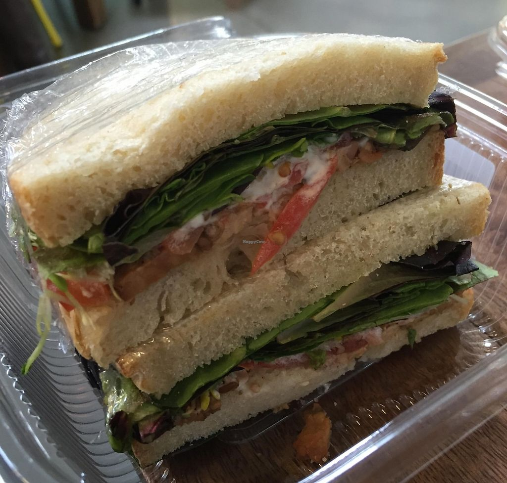 Photo of Honest Weight Food Co-op  by V3ganFoodie <br/>Vegan (fakin' bacon) BLT <br/> March 11, 2016  - <a href='/contact/abuse/image/2838/209326'>Report</a>