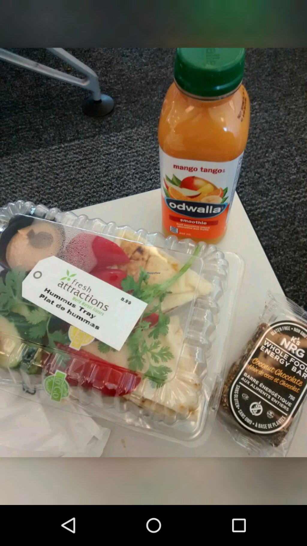 """Photo of Bar 120  by <a href=""""/members/profile/QuothTheRaven"""">QuothTheRaven</a> <br/>Hummus, smoothie and bar <br/> June 14, 2016  - <a href='/contact/abuse/image/28411/153868'>Report</a>"""