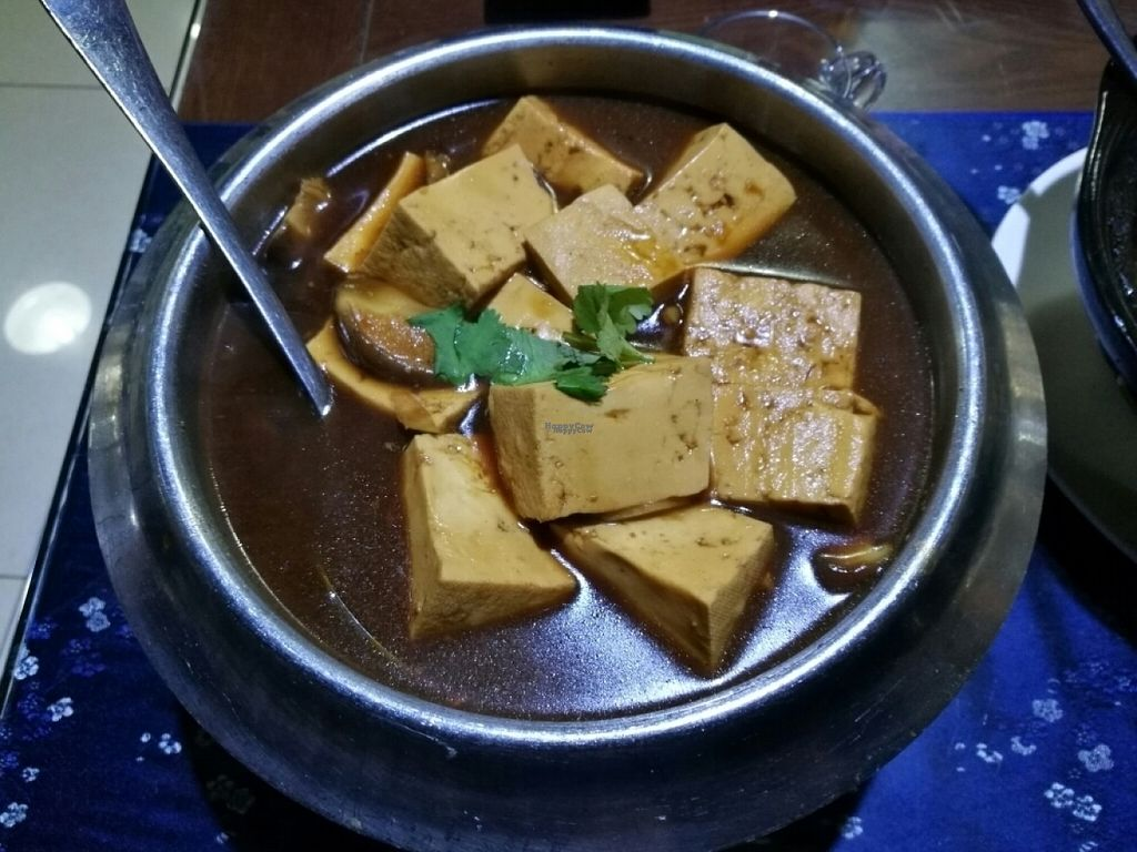 "Photo of Fu Hui Ci Yuan Vegetarian Cultural Restaurant  by <a href=""/members/profile/Yugi"">Yugi</a> <br/>Beijing old style tofu <br/> November 3, 2016  - <a href='/contact/abuse/image/28431/186343'>Report</a>"